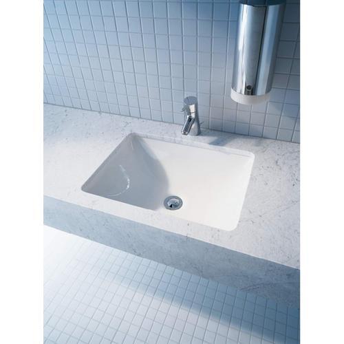 White Starck 3 Vanity Basin