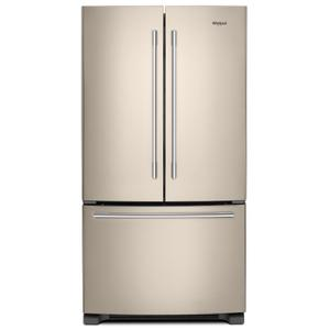 Whirlpool36-inch Wide French Door Refrigerator with Crisper Drawer - 25 cu. ft. Fingerprint Resistant Sunset Bronze