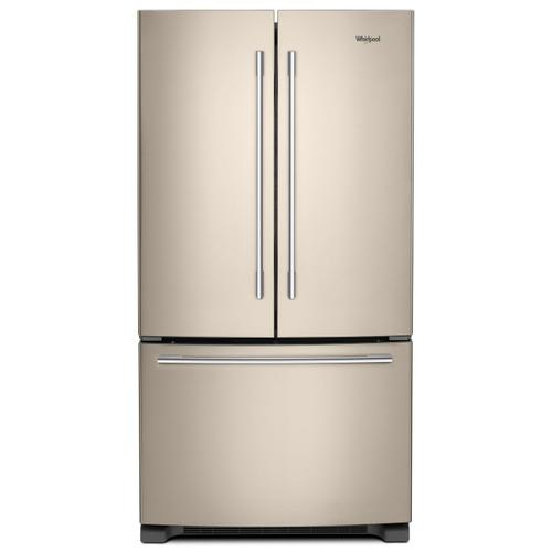 36-inch Wide French Door Refrigerator with Crisper Drawer - 25 cu. ft. Fingerprint Resistant Sunset Bronze