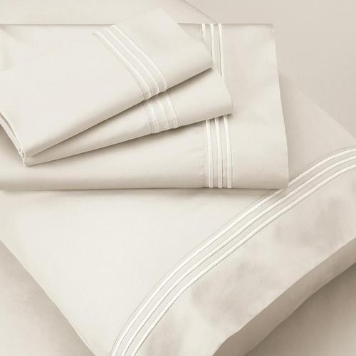 Supima® Cotton Sheet Set - Ivory / Queen