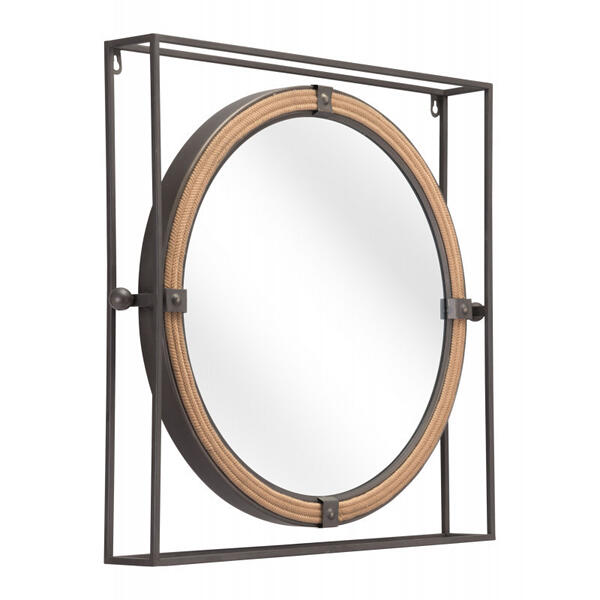 Capell Mirror Gray