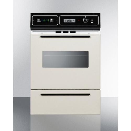 """Summit - 24"""" Wide Gas Wall Oven"""