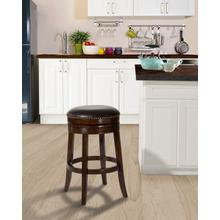 Tillman Bar Height Stool - Brown Cherry