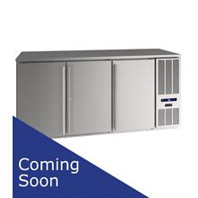 "72"" Back Bar Refrigeration With Stainless Solid Finish (115 V/60 Hz Volts /60 Hz Hz)"