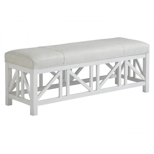 Birkdale Leather Bench