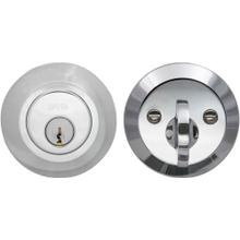 Product Image - Modern Auxiliary Deadbolt Kit in (US26 Polished Chrome Plated)
