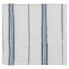 See Details - Jayson Blue Stripe Linen Cashmere 3pc King Set