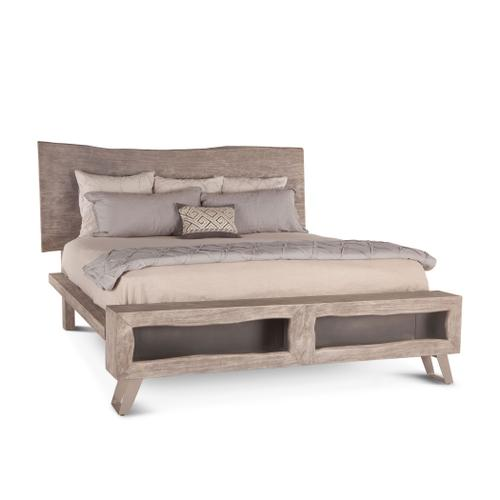 London Loft Queen Bed Weathered Gray