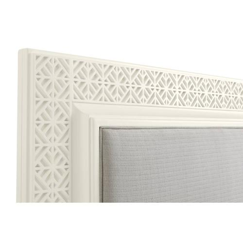 Latitude Panel Bed - Saltbox White / King