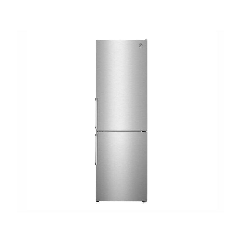 24 inch Freestanding Bottom Mount Refrigerator Stainless Steel