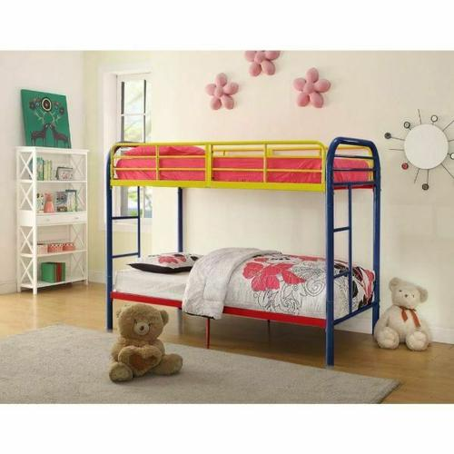 ACME Thomas Twin/Twin Bunk Bed - 02178RNB - Rainbow