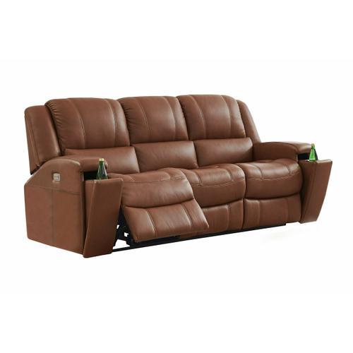 Power Reclining Sofa in Prescott-Carmel