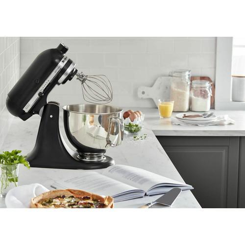Gallery - Artisan® Series 5 Quart Tilt-Head Stand Mixer - Black Matte