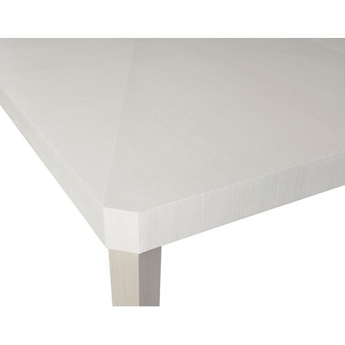Axiom Dining Table in Linear Gray (381)