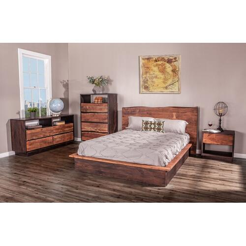 "Product Image - San Marino 34"" Wide Tall Chest Raw Walnut"