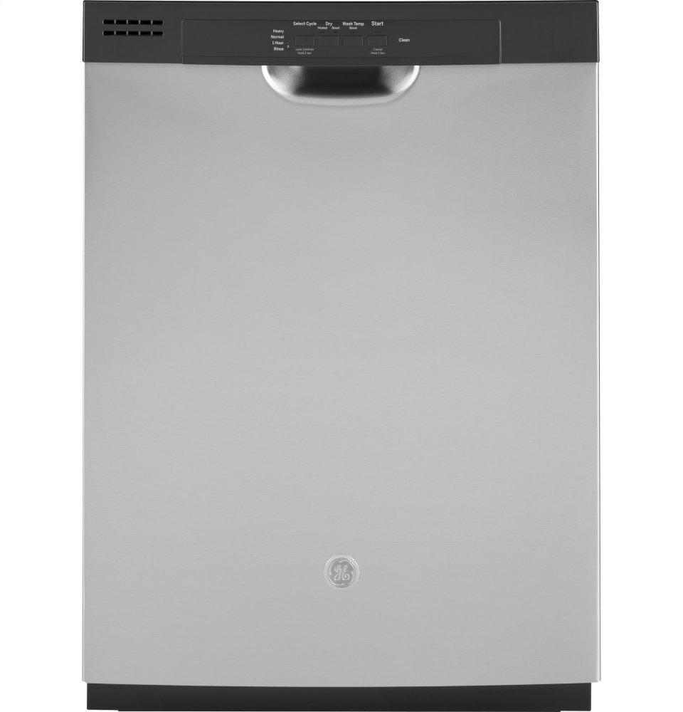 GE®dishwasher With Front Controls And Power Cord