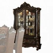 ACME Versailles Curio Cabinet - 61158 - Cherry Oak Product Image