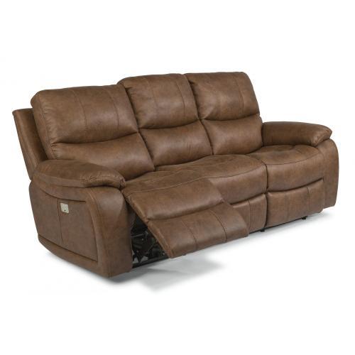 Hendrix Power Reclining Sofa with Power Headrests