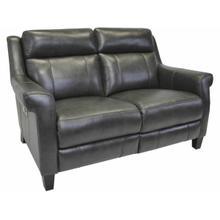 See Details - Power Reclining Love Seat in Benton-Smoke
