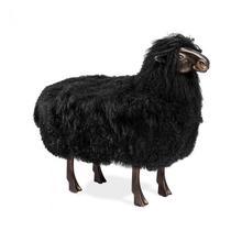 See Details - Leon Sheep Sculpture - Black