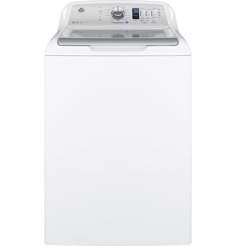 GE4.5 Cu. Ft. Capacity Washer With Stainless Steel Basket
