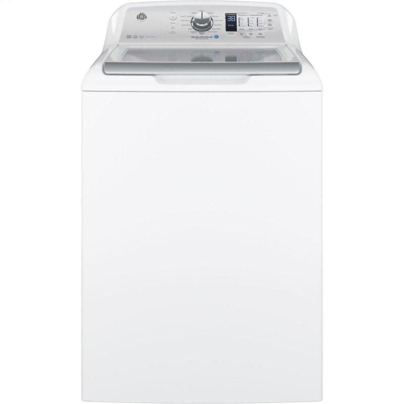 GE(R) 4.5 cu. ft. Capacity Washer with Stainless Steel Basket