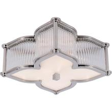 Alexa Hampton Lana 2 Light 15 inch Polished Nickel with Clear Glass Flush Mount Ceiling Light