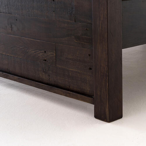 King Size Dark Carbon Finish Caminito Bed