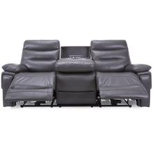 Grey Power Reclining Sofa