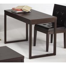 See Details - Writing Desk - Dark Chocolate Finish