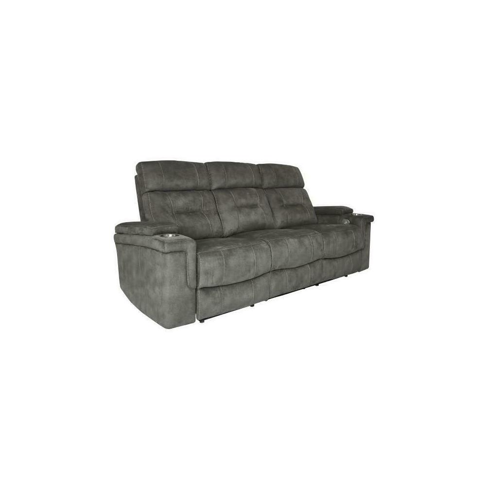 Product Image - DIESEL POWER - COBRA GREY Power Sofa