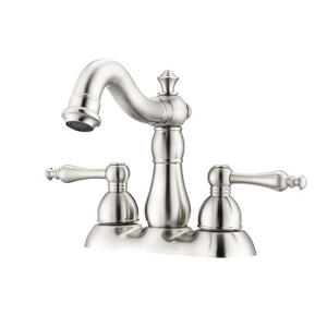 "Gabriel 4"" Centerset Lavatory Faucet - Brushed Nickel Product Image"
