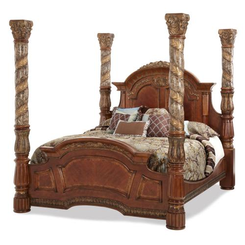 Cal King Canopy Bed