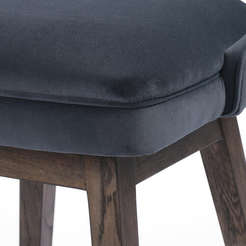 Counter Stool Size Modern Velvet Shadow Cover Task Bar + Counter Stool