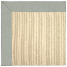 "Creative Concepts-Beach Sisal Canvas Spa Blue - Rectangle - 24"" x 36"""