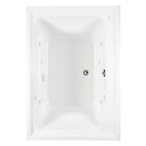 American Standard - Town Square 60x42 inch EcoSilent Combo Massage Tub  American Standard - Arctic White