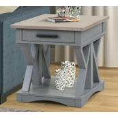 AMERICANA MODERN - DOVE End Table