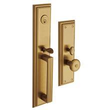 View Product - Vintage Brass Tremont Entrance Trim