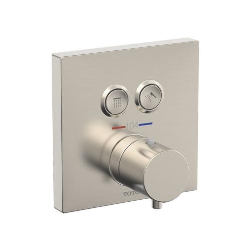 Thermostatic Mixing Valve 2-Function Trim - Brushed Nickel