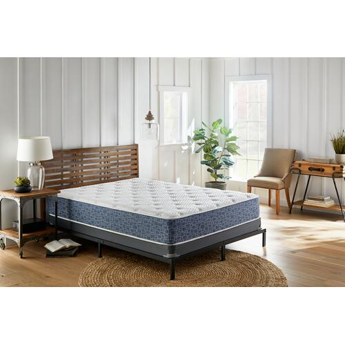 "American Bedding 8"" Firm Tight Top Mattress in Box, California King"