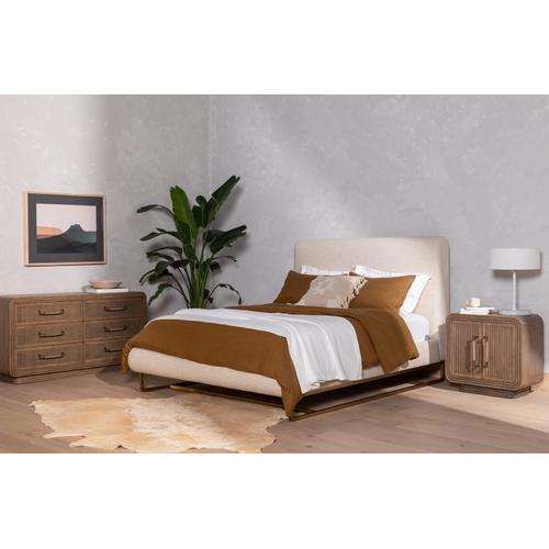 Queen Size Sled Bed