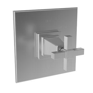 Stainless Steel - PVD Balanced Pressure Shower Trim Plate with Handle. Less showerhead, arm and flange.