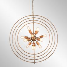 Cosmos Iron Chandelier Large