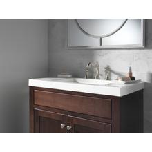 Stainless Metal Cross Handle Set - Deck Mount Bathroom & Bidet