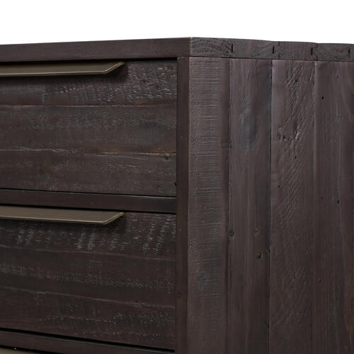 Dark Carbon Finish Wyeth 6 Drawer Dresser