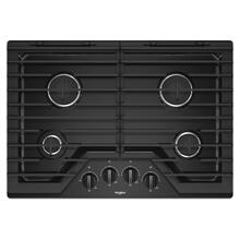 See Details - 30-inch Gas Cooktop with EZ-2-Lift™ Hinged Cast-Iron Grates
