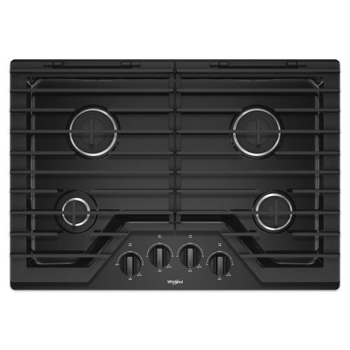 Whirlpool Canada - 30-inch Gas Cooktop with EZ-2-Lift™ Hinged Cast-Iron Grates