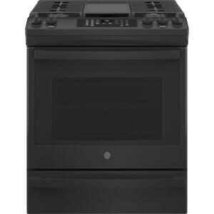 "GEGE(R) 30"" Slide-In Front-Control Convection Gas Range with No Preheat Air Fry"