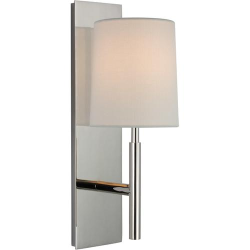 Visual Comfort - Barbara Barry Clarion LED 6 inch Polished Nickel Sconce Wall Light, Medium
