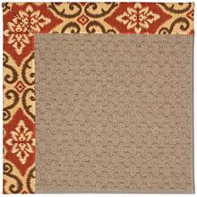 Creative Concepts-Grassy Mtn. Shoreham Brick Machine Tufted Rugs
